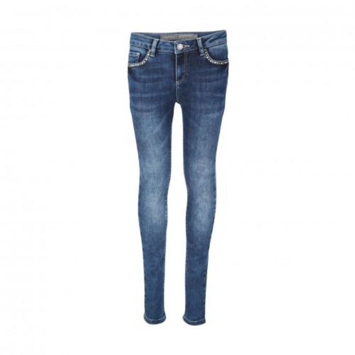 Geisha Skinny Jeans blue denim
