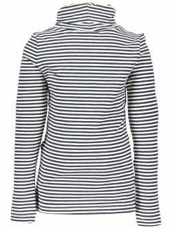 LIKE FLO Rollkragen-Langarm-Shirt/Longsleeve Streifen antra mele offwhite mele