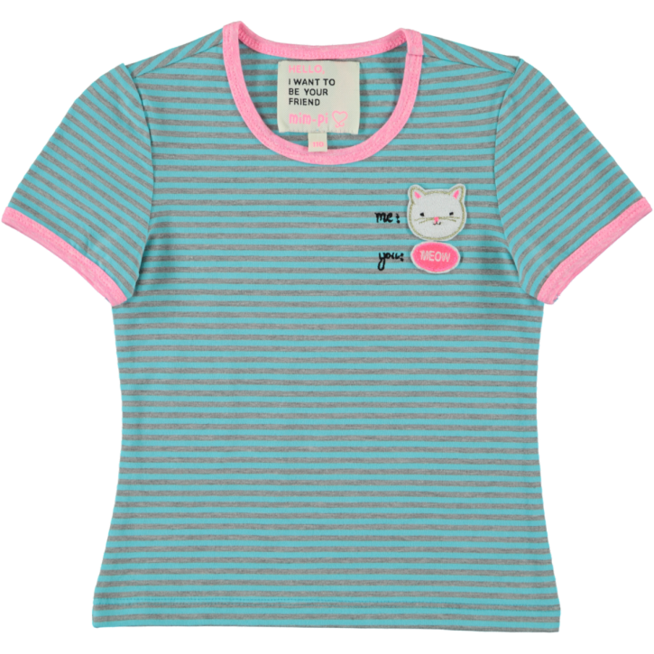 Mim-Pi T-Shirt Streifen blue