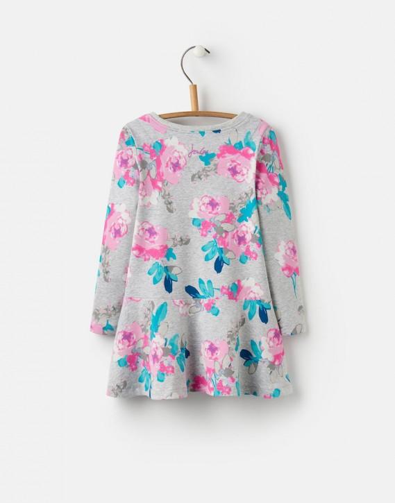 Joules Kleid JOSIE Blumen grau melange