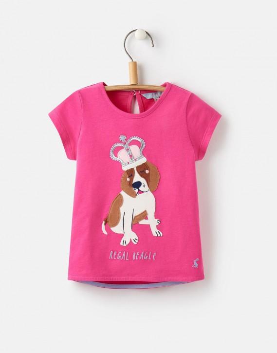 Joules Mädchen T-Shirt MAGGIE Hund