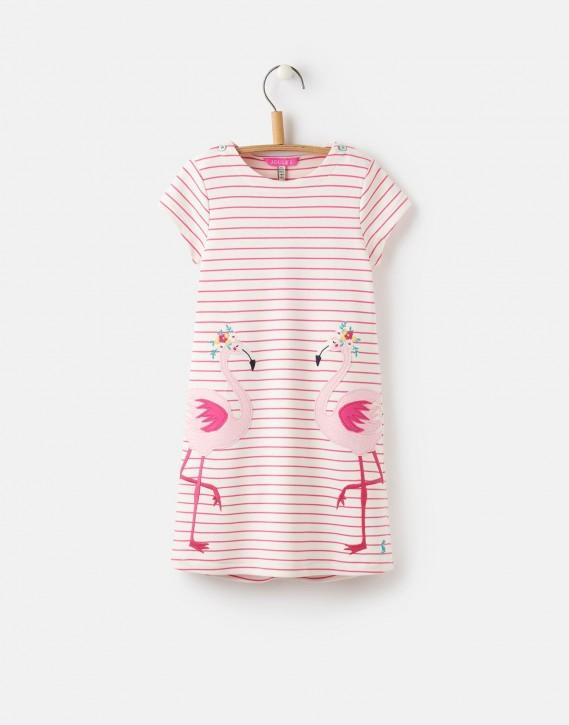 Joules Kleid KAYE Flamingo Streifen