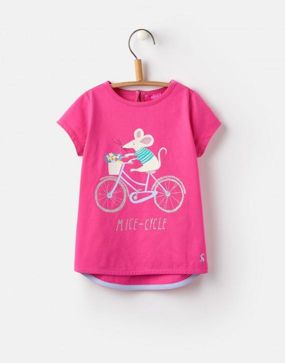 Joules Mädchen T-Shirt PIXIE Maus