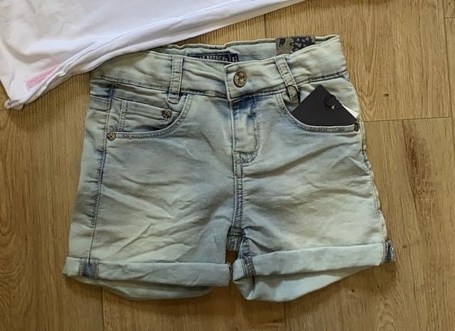 Blue Effect Mädchen Jeans-Short powerbleached