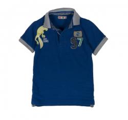 CKS Kurzarm-Polo Damas olympian blue