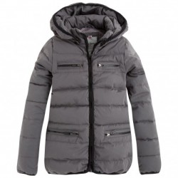 Pepe Jeans London Winter-Jacke TULY chrom