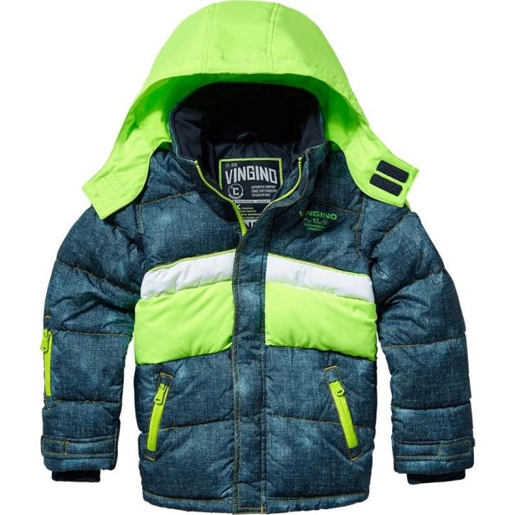 Vingino Winter-Ski-Jacke mit Kapuze TATUL blue denim