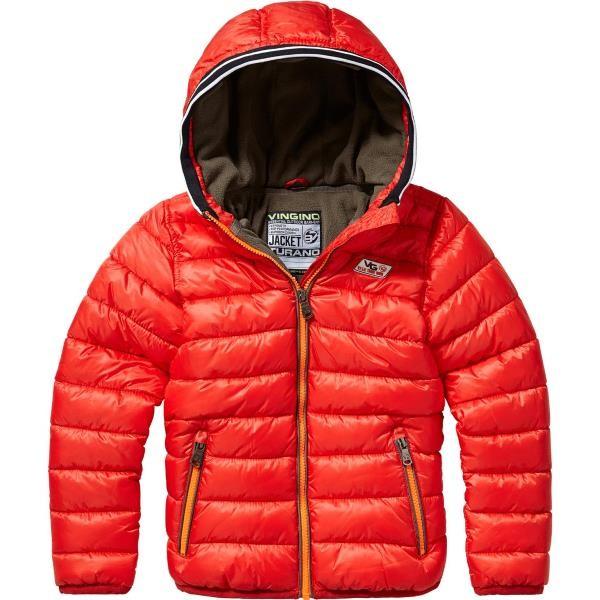 Vingino Winter-Jacke mit Kapuze TURAN burnt red