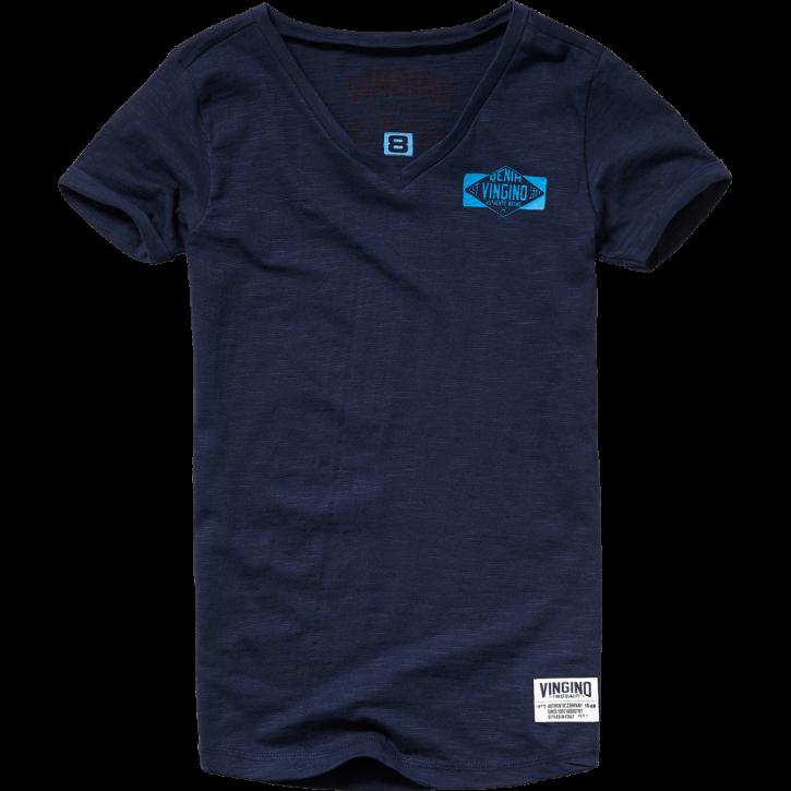 Vingino T-Shirt V-Neck HENORIE dark blue