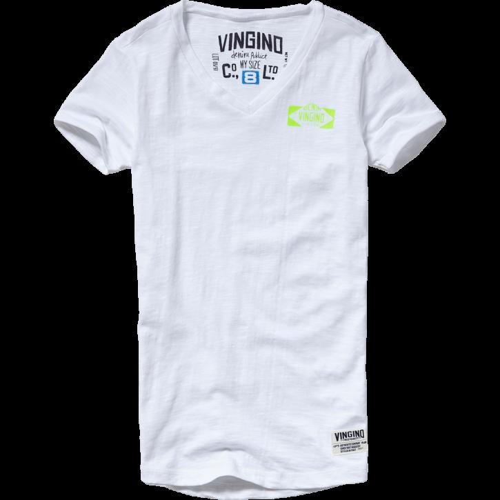 Vingino T-Shirt V-Neck HENORIE real white