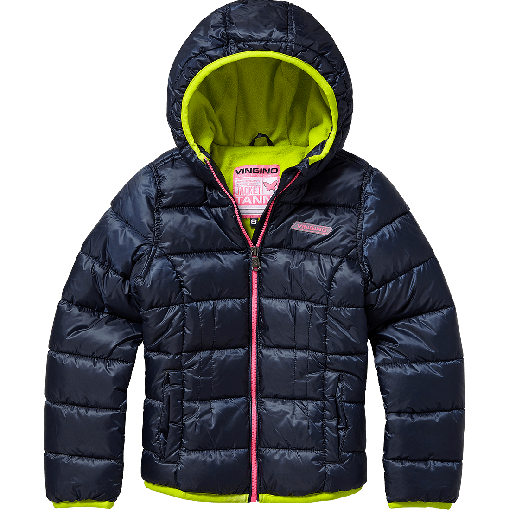 Vingino Winter-Jacke mit Kapuze TANNI dark blue