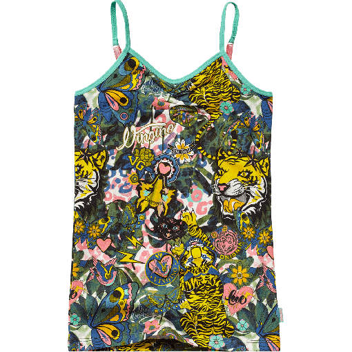 Vingino Unterhemd / Singlet / Top LUCY multicolor old yellow