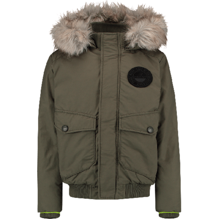 Vingino Winter-Jacke mit Kapuze TAMIEM army green