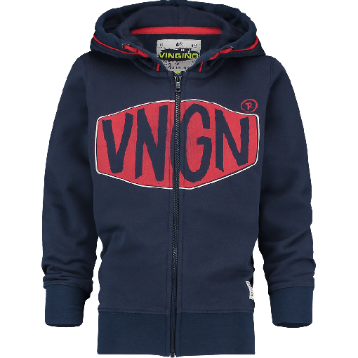 Vingino Kapuzen-Sweat-Jacke OXA dark blue