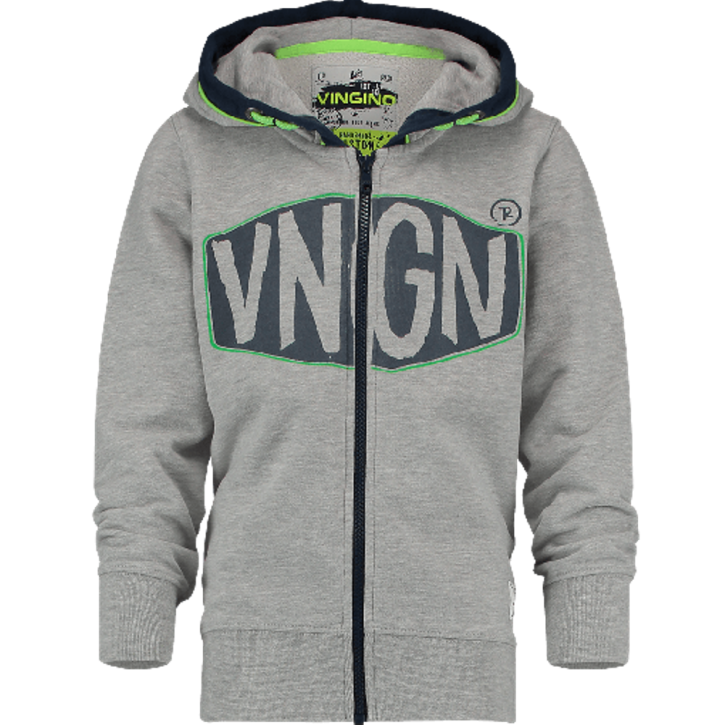 Vingino Kapuzen-Sweat-Jacke OXA grey mele