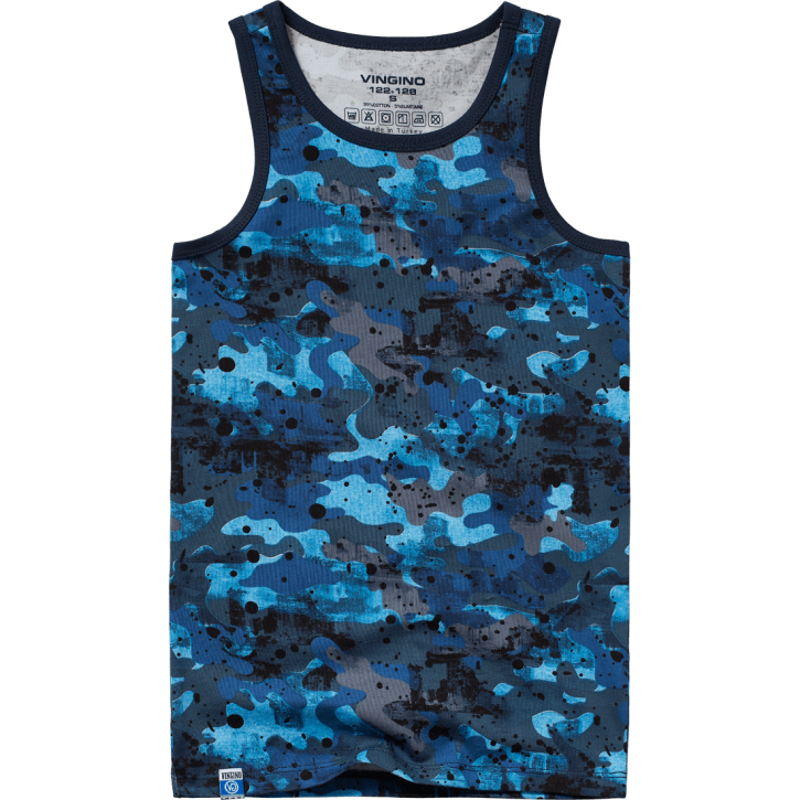 Vingino Unterhemd / Tank CITY dark blue