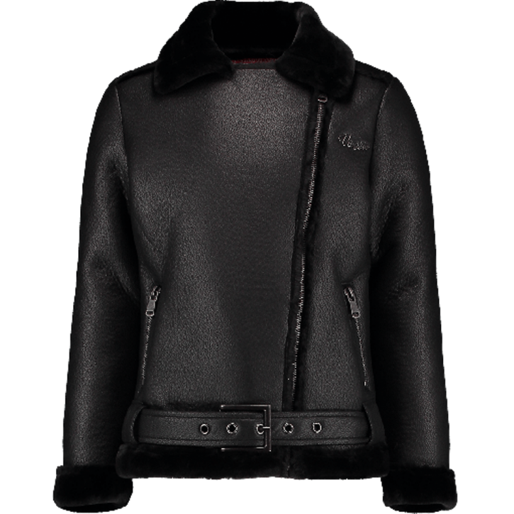 Vingino Winter-Kunstleder-Jacke TILONA black