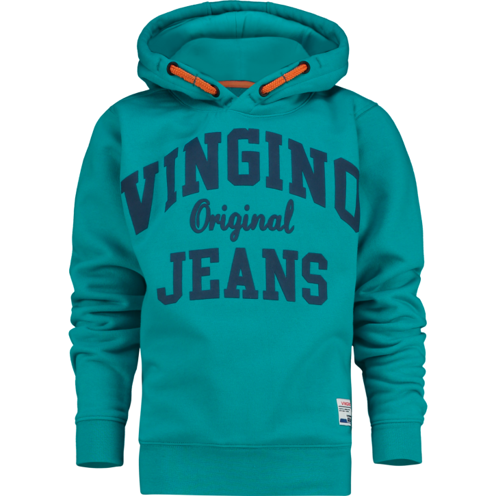 Vingino Kapuzen-Sweat-Shirt / Hoodie NICKAY green blue