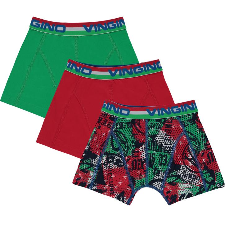 Vingino Boxer/Short 3er-Pack ITALIA basil green