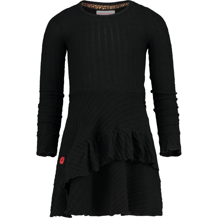 Vingino Strick-Kleid PEDOSA deep black