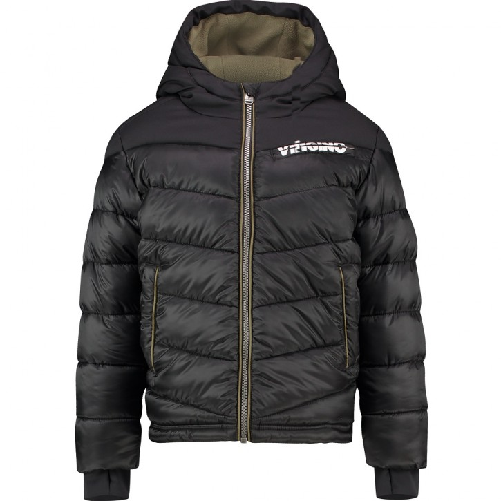 Vingino Winter-Jacke mit Kapuze TUGRA deep black