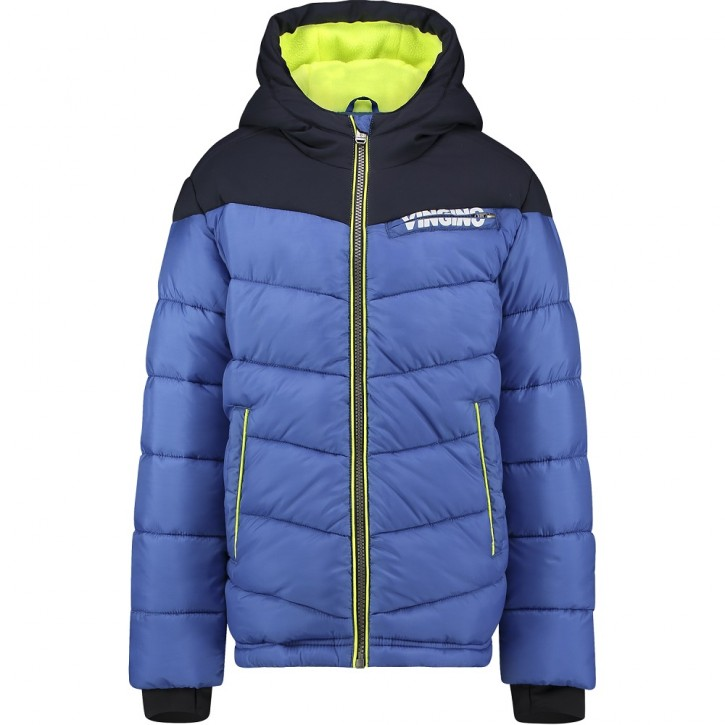 Vingino Winter-Jacke mit Kapuze TUGRA digital blue
