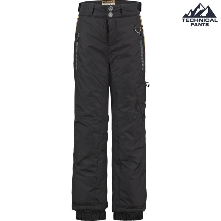 Vingino Jungen Winter Ski-Hose TIME deep black