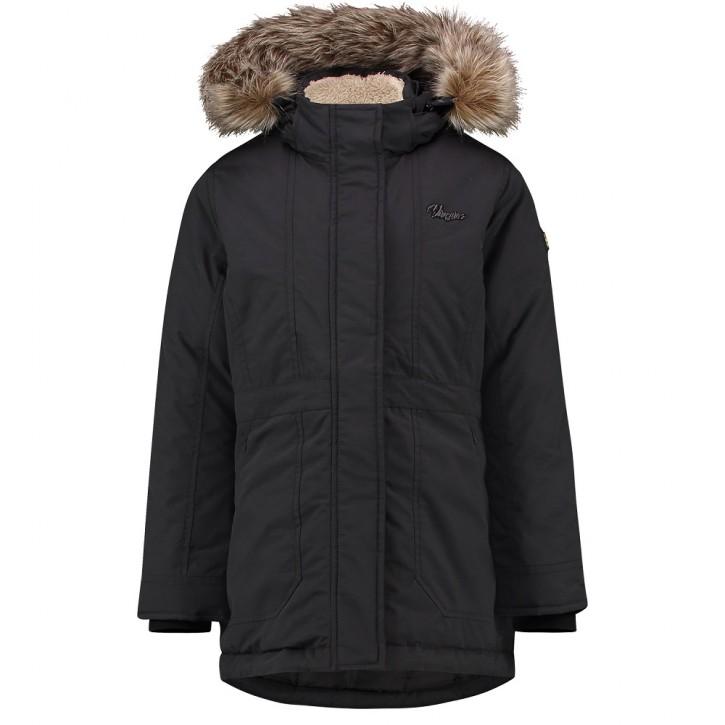 Vingino Winter-Jacke/Winter-Mantel mit Kapuze TRIJNE deep black