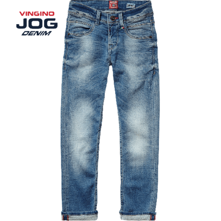 Vingino Jungs Skinny Jog Jeans ARNALDO light indigo