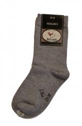 Bonnie Doon Basic-Socken hellgrau