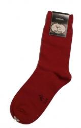 Bonnie Doon Basic-Socken rot