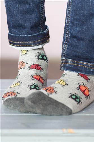 Bonnie Doon Socken BEETLE light grey heather