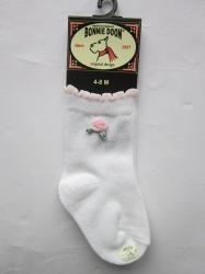 Bonnie Doon Baby Socken Rose weiß-rosa