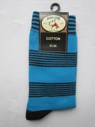 Bonnie Doon Socken Streifen St. Tropez/navy