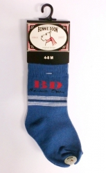 "Bonnie Doon Baby Socken ""BD"" blau"