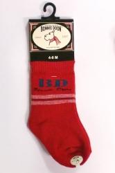 """Bonnie Doon Baby Socken """"BD"""" rot"""