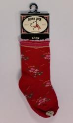 "Bonnie Doon Baby Socken ""Flourishing"" rot"