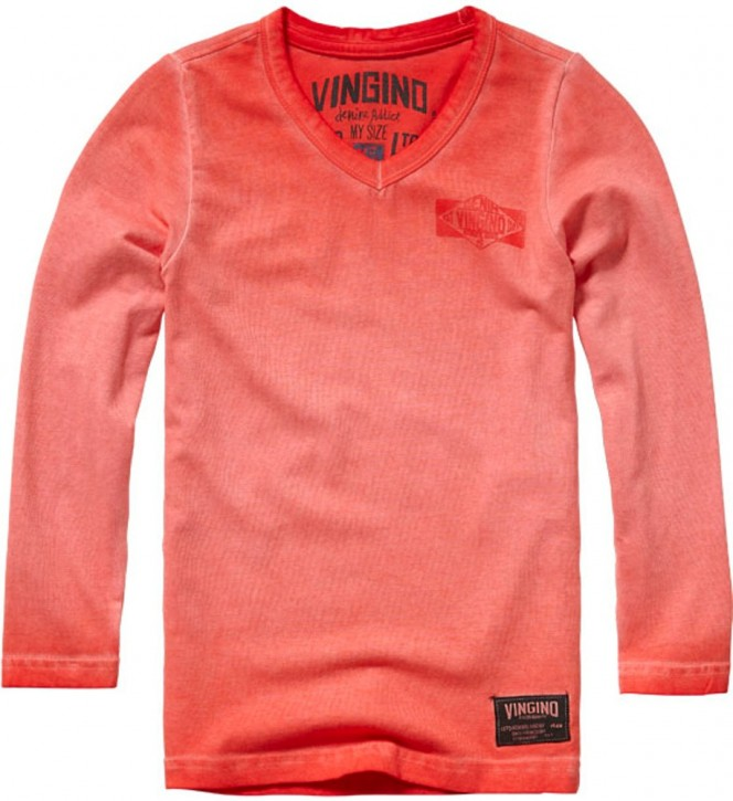 Vingino Basic Langarm-Shirt/Longsleeve JOX flame red