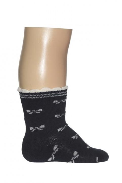 Bonnie Doon Baby Socken BOWE TIES navy