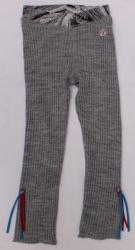 Carbone Strick-Legging grau
