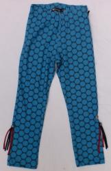 Carbone Legging blaue Punkte