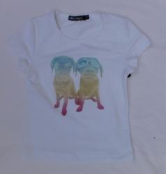 Carbone T-Shirt Gwen weiß