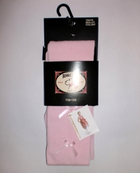 Bonnie Doon Satin Schleifchen Strumpfhose rosa