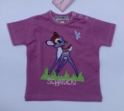 Anouk et Emile T-Shirt Bambi fuchsia