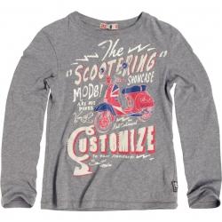 CKS Langarm-Shirt/Longsleeve Abruzzi med grey mele