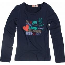 CKS Langarm-Shirt/Longsleeve Heidi rough navy