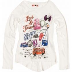 CKS Langarm-Shirt/Longsleeve Pretoria cloud cream