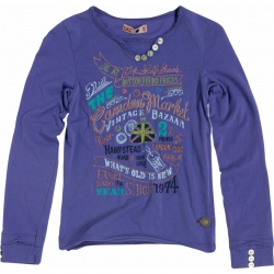 CKS Langarm-Shirt/Longsleeve Primavera bluish lavender