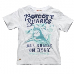 CKS T-Shirt ASTERN weiß