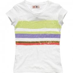 CKS T-Shirt THEA russian white
